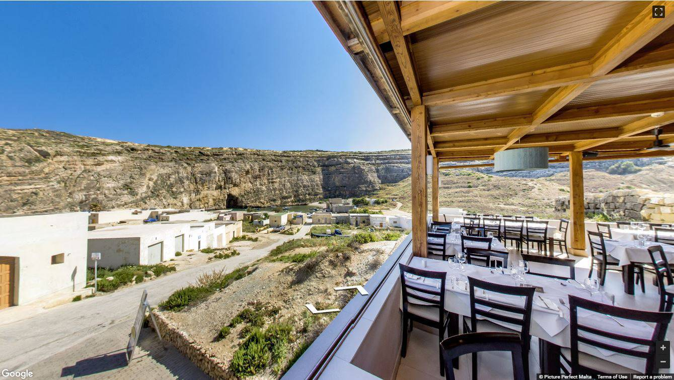 Azure Window Restaurant Gozo