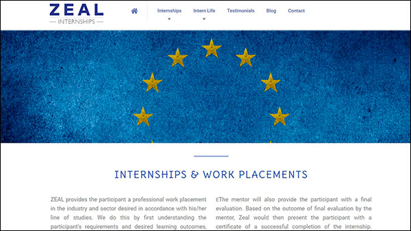 INTERNSHIPS & WORK PLACEMENTS